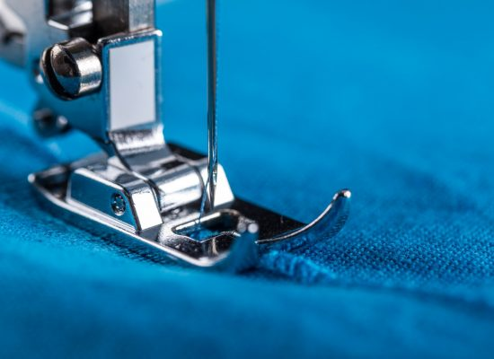 Working part of modern electric sewing machine